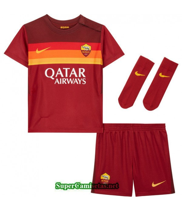 Tailandia Primera Equipacion Camiseta As Roma Niños 2020/21