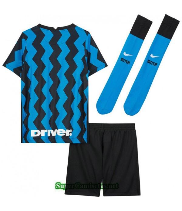 Tailandia Primera Equipacion Camiseta Inter Milan Niños 2020/21