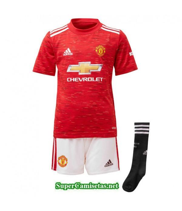 Tailandia Primera Equipacion Camiseta Manchester United Niños 2020/21