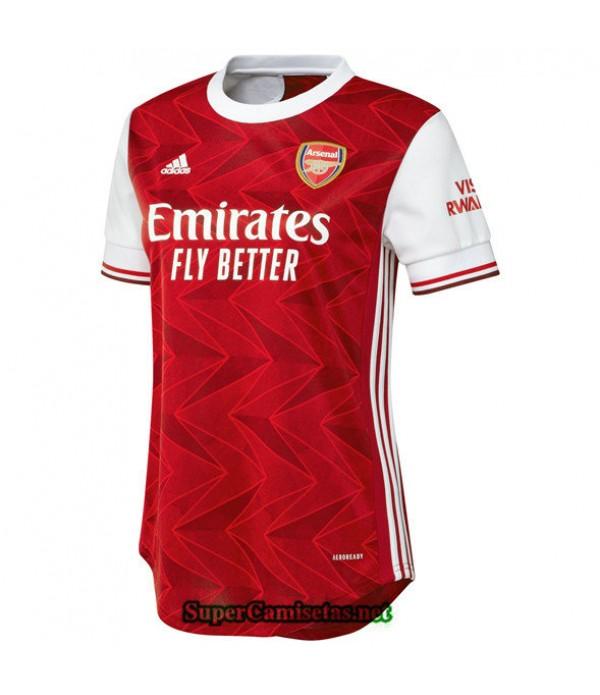 Tailandia Primera Equipacion Camiseta Arsenal Mujer 2020/21
