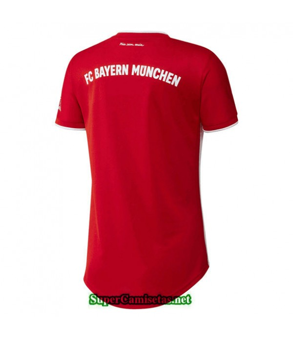 Tailandia Primera Equipacion Camiseta Bayern Munich Mujer 2020/21