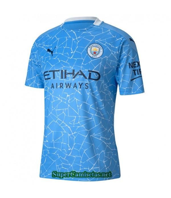 Tailandia Primera Equipacion Camiseta Manchester City 2020/21