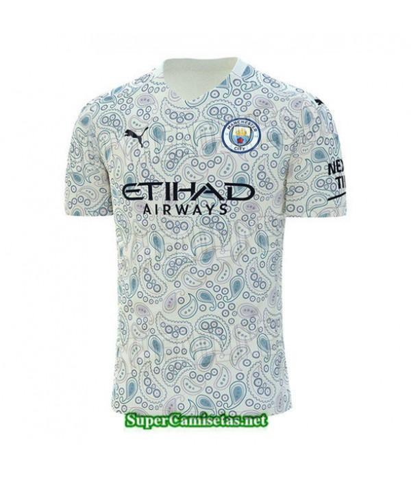 Tailandia Tercera Equipacion Camiseta Manchester City 2020/21