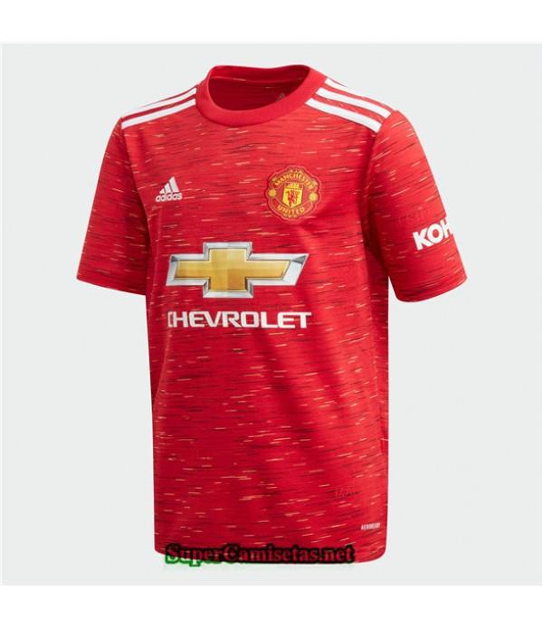 Tailandia Primera Equipacion Camiseta Manchester United 2020/21