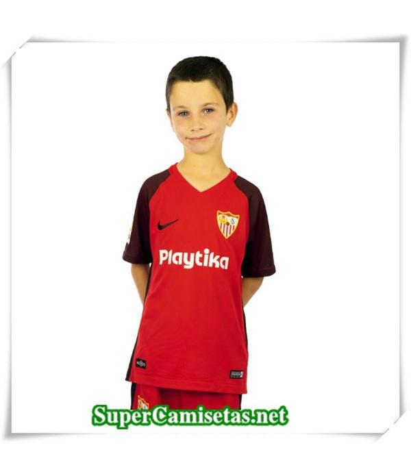 Segunda Equipacion Camiseta Sevilla Niños 2018/19