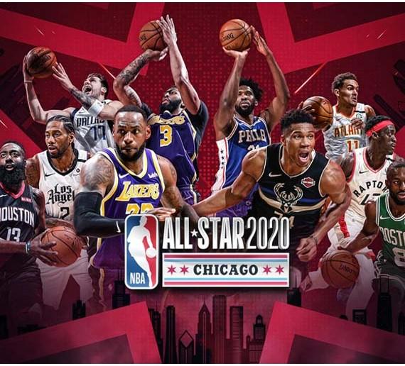 Camisetas NBA Allstar 2020