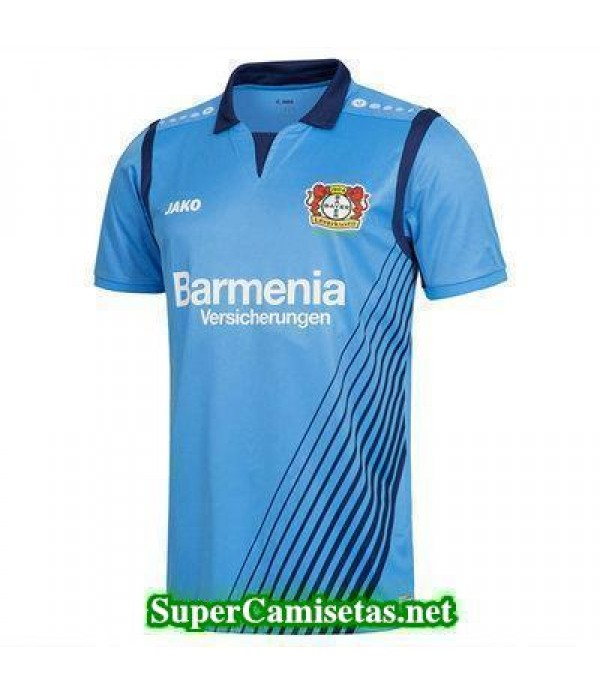 Segunda Equipacion Camiseta Bayer 04 Leverkusen Azul 2017/18