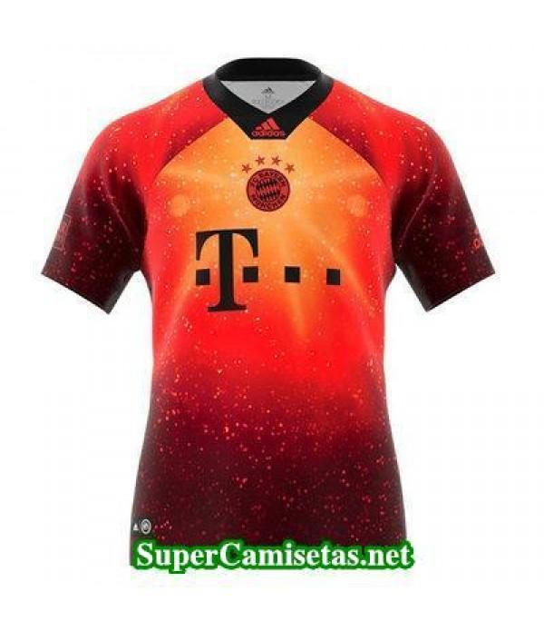 camiseta entrenamiento Bayern Munich Rojo 2018/19