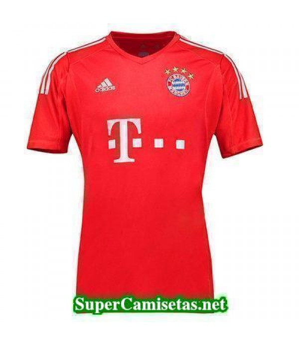 Portero Equipacion Camiseta Bayern Munich Rojo 201...