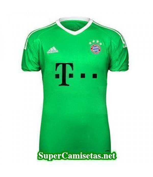 Portero Equipacion Camiseta Bayern Munich verde 20...