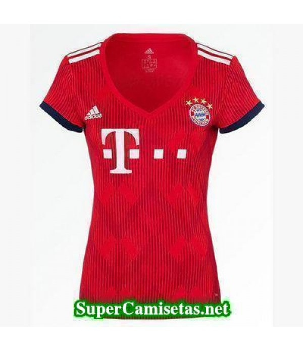 Primera Equipacion Camiseta Bayern Munich Mujer 2018/19
