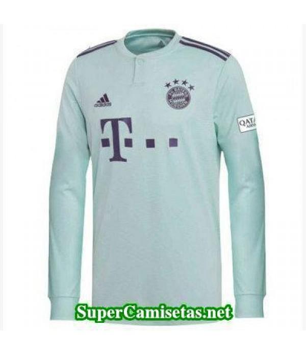 Segunda Equipacion Camiseta Bayern Munich Manga La...