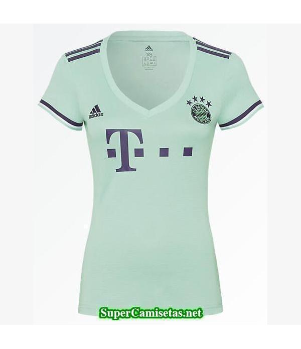 Segunda Equipacion Camiseta Bayern Munich Mujer 2018/19