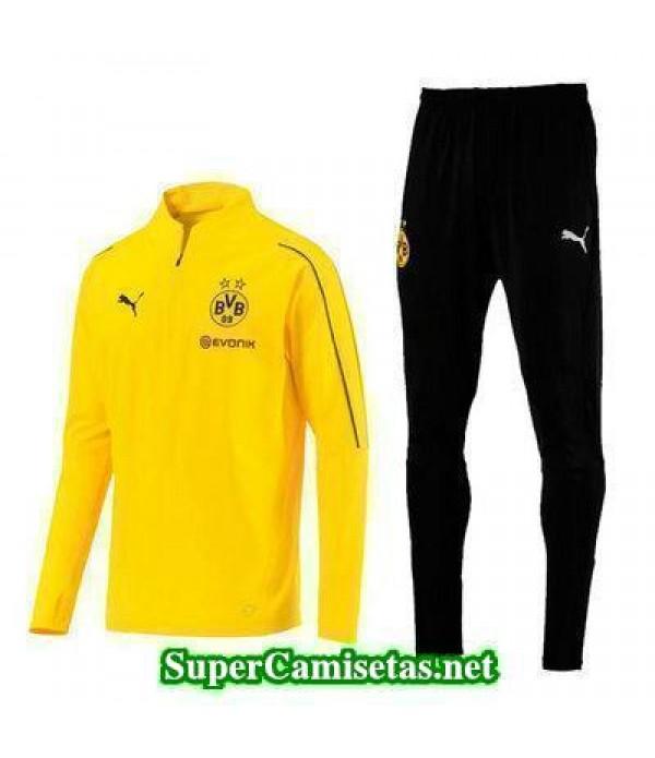 Camiseta entrenamiento Dortmund ML amarillo 2018 2...