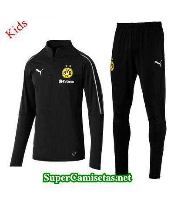 Camiseta entrenamiento Dortmund Ninos ML Negro 201...
