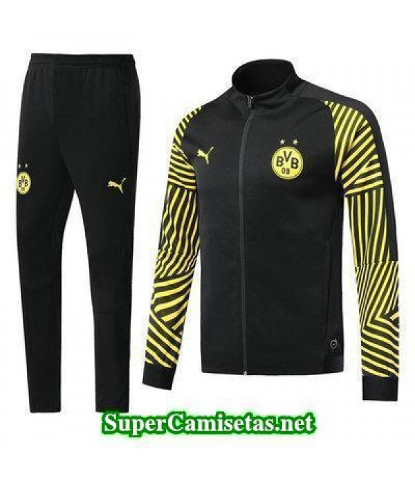 Chaquetas Dortmund Negro 2018 2019 baratas