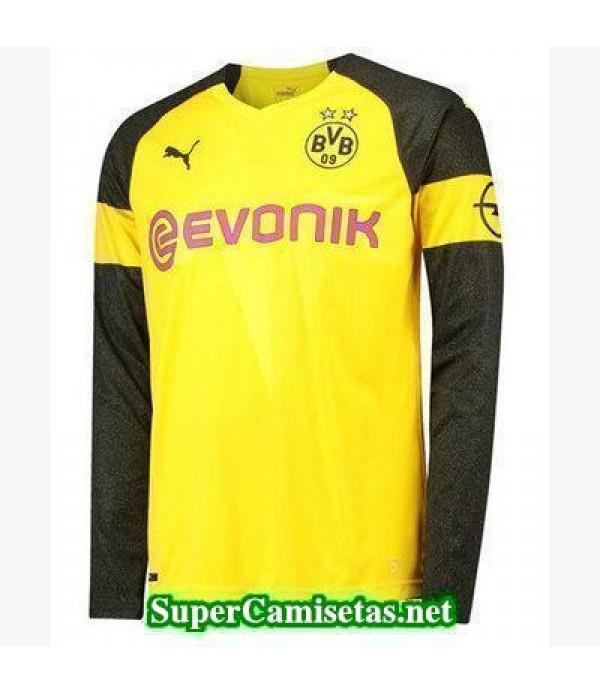 Primera Equipacion Camiseta Dortmund Manga Larga 2...