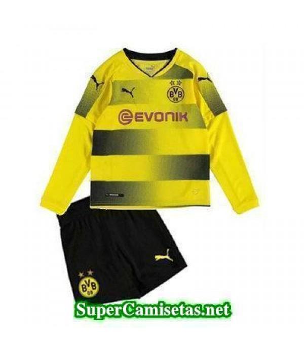 Primera Equipacion Camiseta Dortmund ML Ninos 2017...