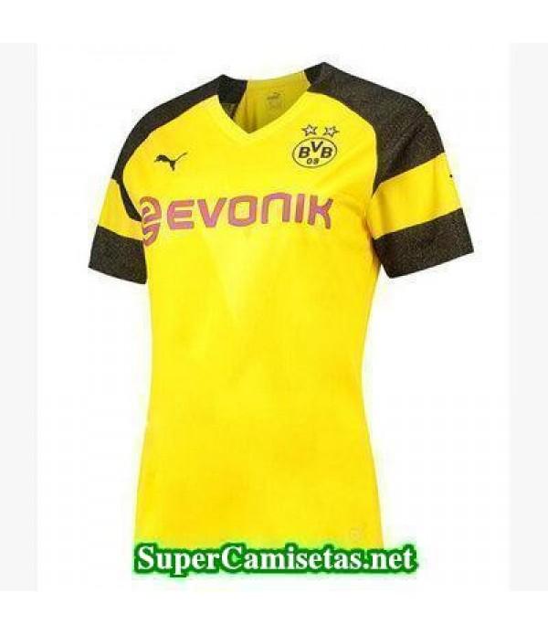 Primera Equipacion Camiseta Dortmund Mujer 2018/19