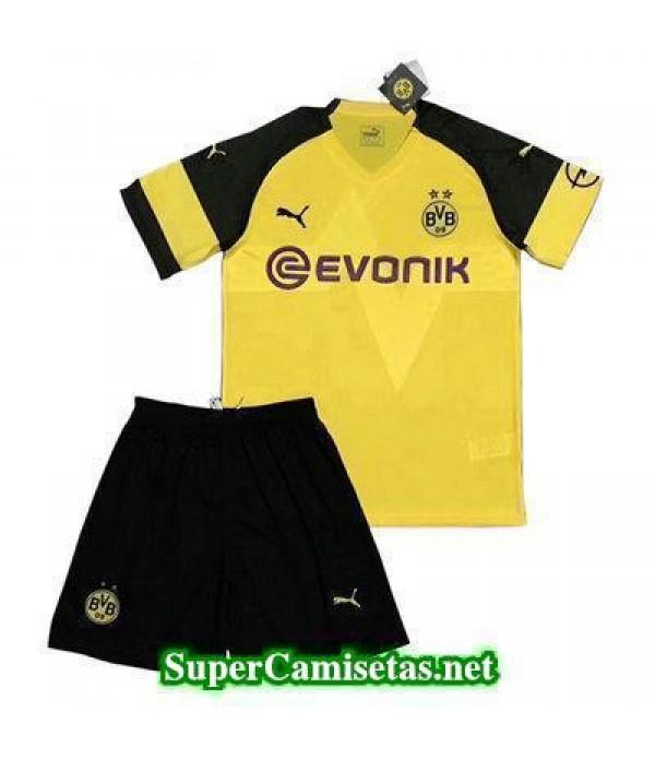Primera Equipacion Camiseta Dortmund Ninos 2018/19