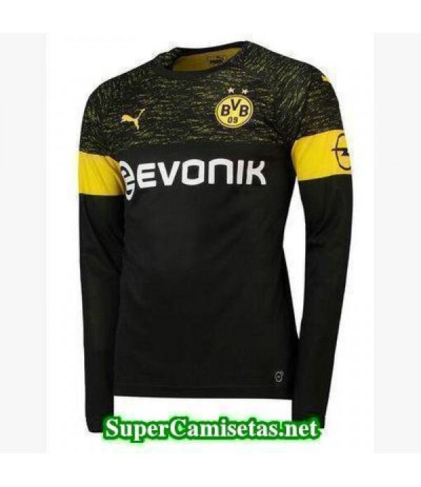 Segunda Equipacion Camiseta Dortmund Manga Larga 2...