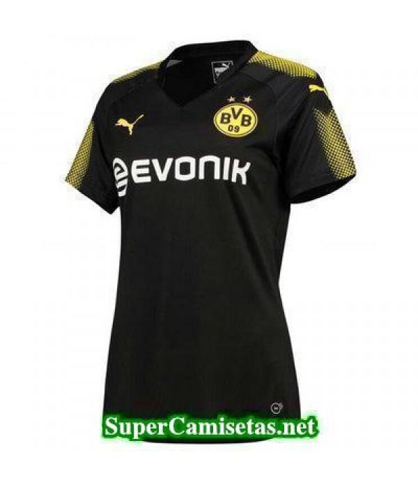 Segunda Equipacion Camiseta Dortmund Mujer 2017/18