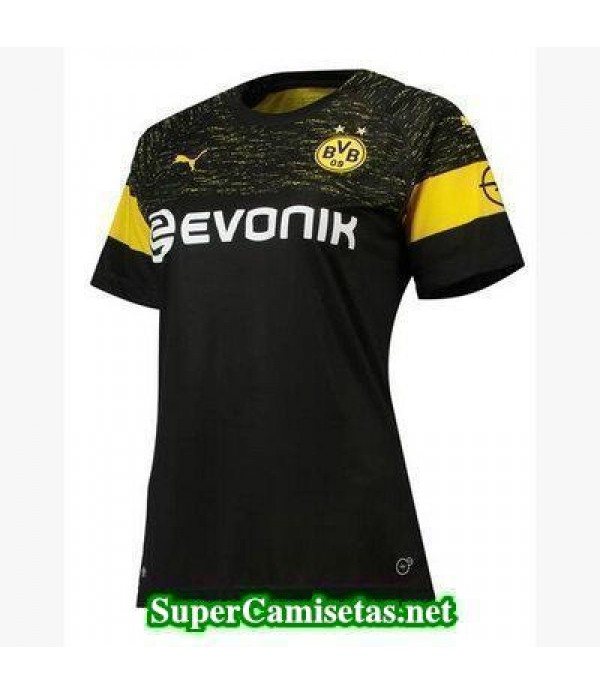 Segunda Equipacion Camiseta Dortmund Mujer 2018/19