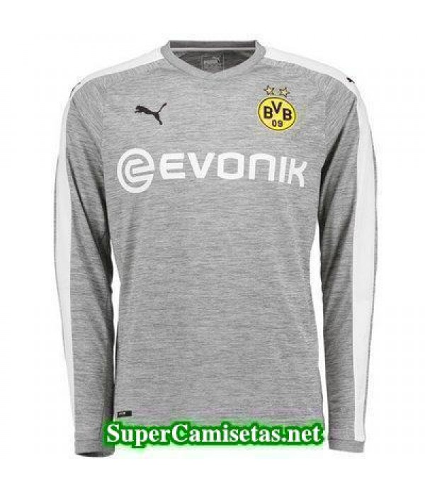 Tercera Equipacion Camiseta Dortmund Manga Larga 2017/18