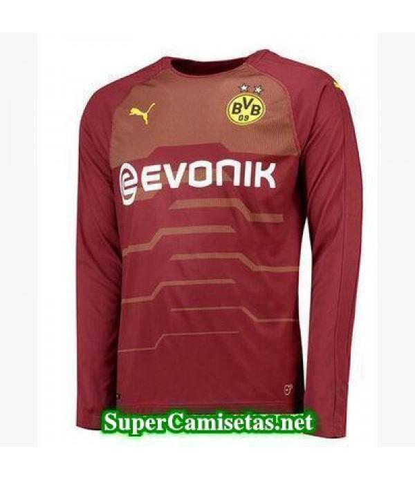 Tercera Equipacion Camiseta Dortmund Manga Larga 2018/19