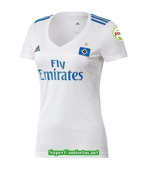 Primera Equipacion Camiseta Hamburgo Mujer 2018/19