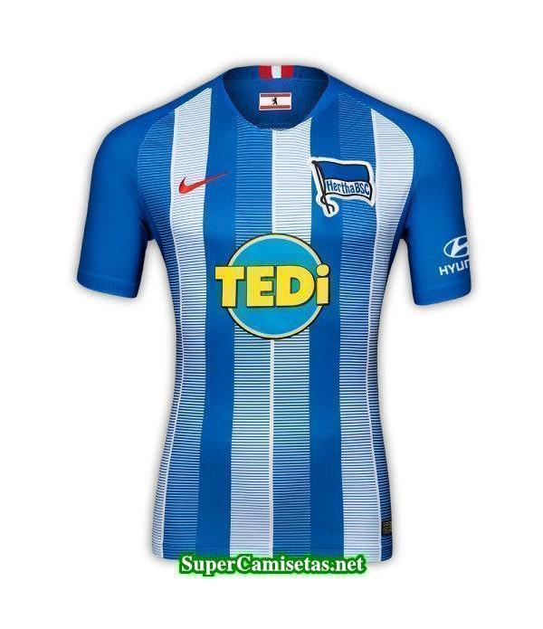 Tailandia Primera Equipacion Camiseta Hertha BSC 2018/19