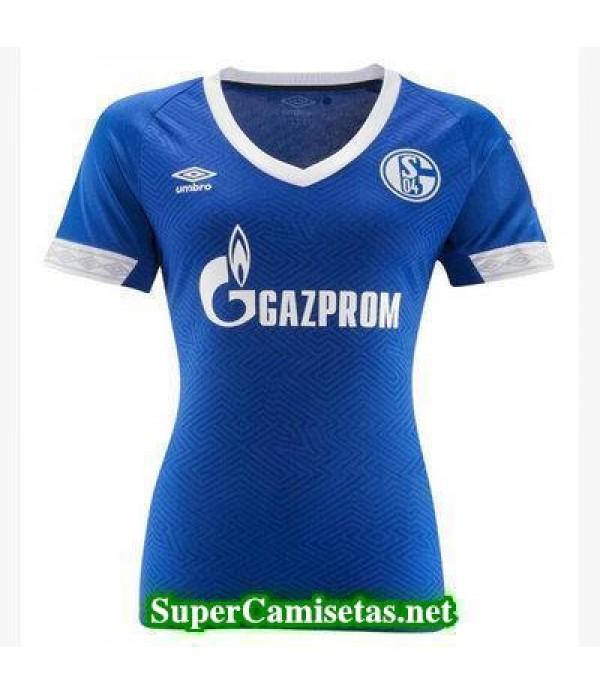 Primera Equipacion Camiseta Schalke 04 Mujer 2018/19