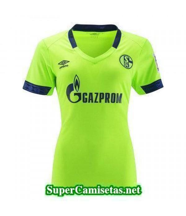 Tercera Equipacion Camiseta Schalke 04 Mujer 2018/19
