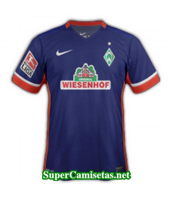 Segunda Equipacion Camiseta Werder Bremen 2015/16