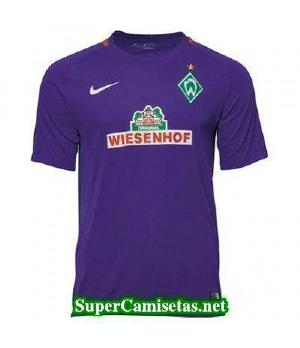 Segunda Equipacion Camiseta Werder Bremen 2016/17