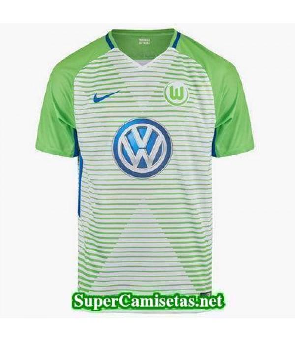 Primera Equipacion Camiseta Wolfsburg 2017/18