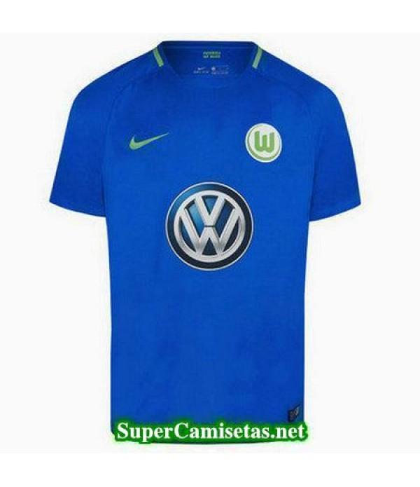 Segunda Equipacion Camiseta Wolfsburg 2017/18