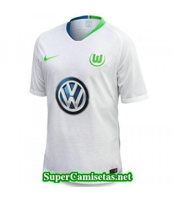 Segunda Equipacion Camiseta Wolfsburg 2018/19