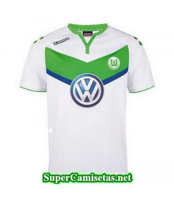 Tailandia Primera Equipacion Camiseta Wolfsburg 2015/16