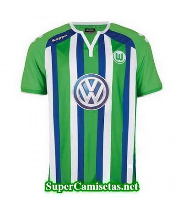 Tailandia Segunda Equipacion Camiseta Wolfsburg 2015/16