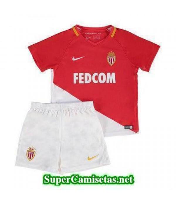 Primera Equipacion Camiseta AS Monaco Ninos 2017/18