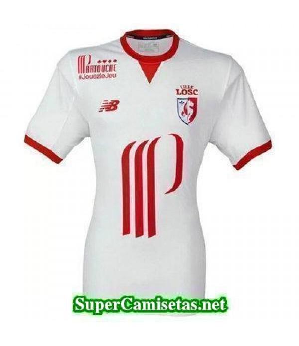 Tailandia Segunda Equipacion Camiseta Lille OSC 2017/18