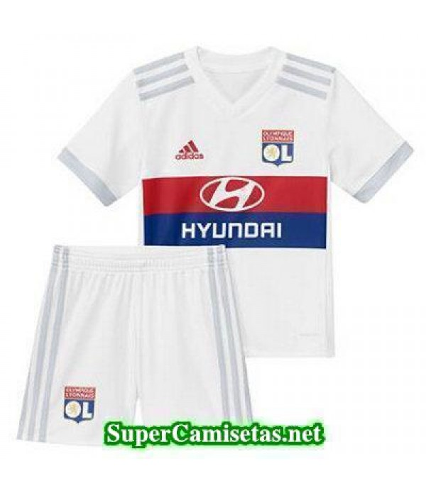 Primera Equipacion Camiseta Lyon Ninos 2017/18