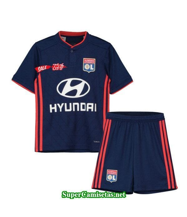 Segunda Equipacion Camiseta Lyon Ninos 2018/19