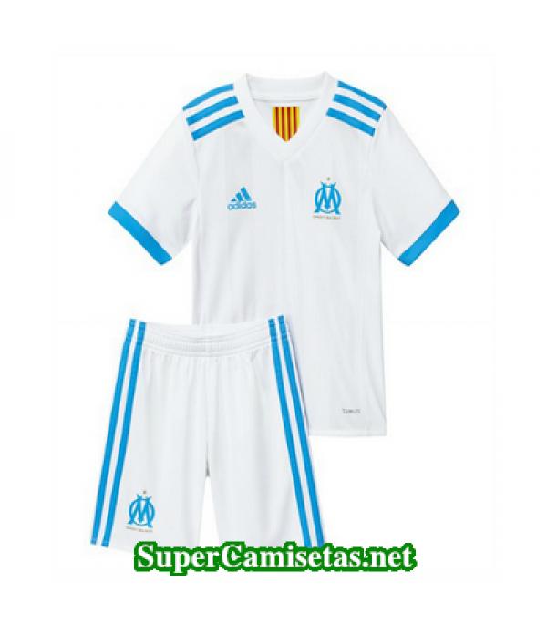 Primera Equipacion Camiseta Marsella Ninos 2017/18