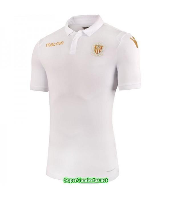 Tailandia Segunda Equipacion Camiseta OGC Nice Blanco 2018/19