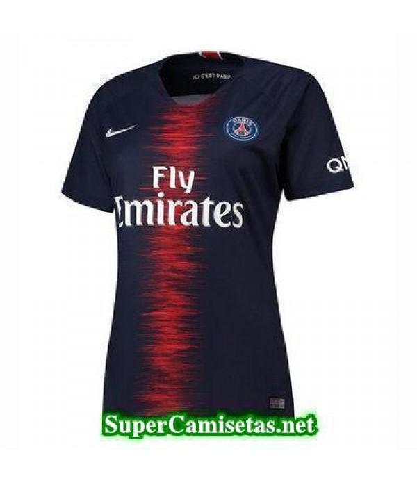 Primera Equipacion Camiseta PSG Mujer 2018/19