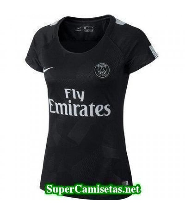 Tercera Equipacion Camiseta PSG Mujer 2017/18