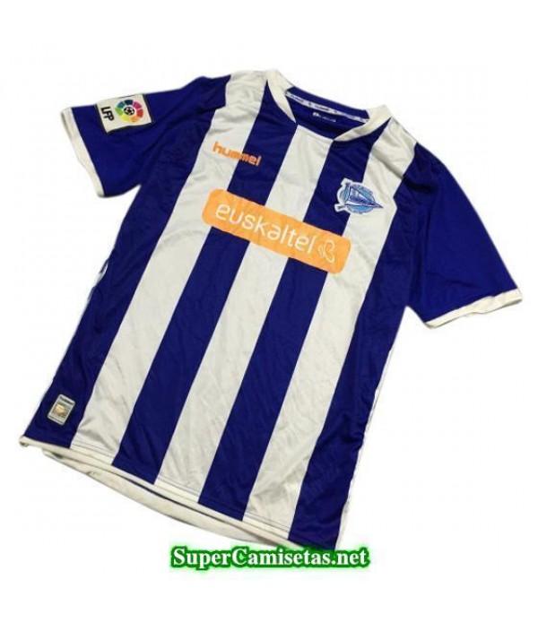 Tailandia Primera Equipacion Camiseta Alaves 2014/15