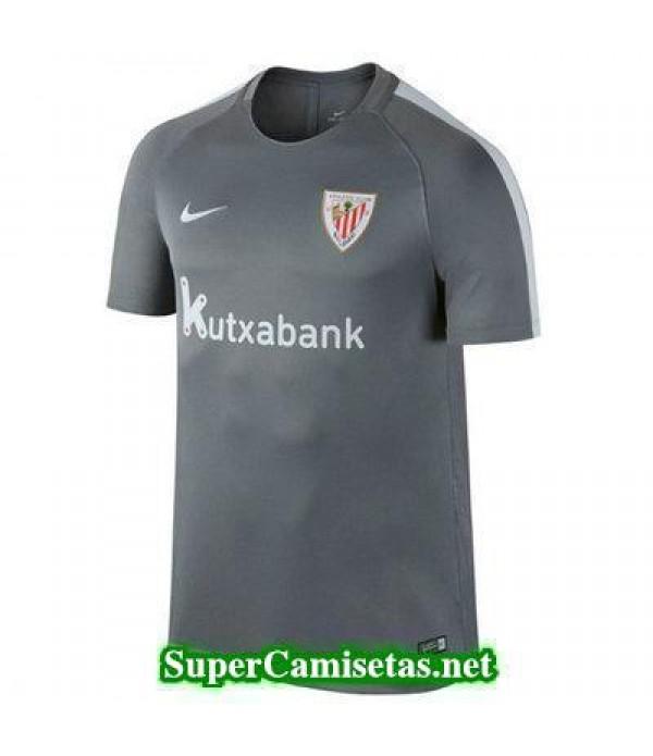 camiseta entrenamiento Athletic de Bilbao Gris 2016 2017